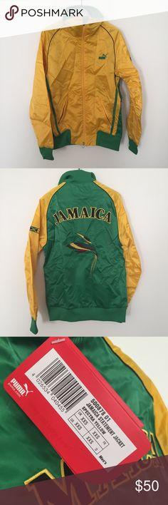 Women's rasta track jacket