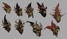Goblin Shaman hood variants - Game: Warhammer Online: Age of Reckoning