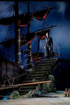 """Holender tułacz"" reż. Herbert Adler Sailing Ships, Opera, Boat, Poster, Dinghy, Opera House, Boats, Sailboat, Tall Ships"
