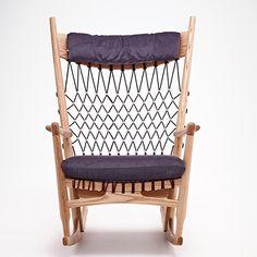 Cadeira PP124 - Rocking - Hans Wegner - Artesian