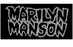 Marilyn Manson Logo Patch. Another one for all you die hard fans.... Sew on hand sign patch in black and silver. Measuring 10x5.5cm. Perfect for customizing any bag or pair of jeans. Marilyn Manson  is an American musician, artist and former music journalist known for his controversial stage persona. His stage name was formed from juxtaposing the names of two 1960s American cultural icons, namely actress Marilyn Monroe and convicted multiple murder mastermind Charles Manson.