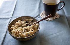 Quinoa & chopped dates