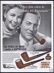 1950 Kaywoodie Tobacco Pipe