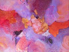 """BARBARA VAN ROOYAN ABSTRACT ART: """"Aria"""" Original Abstract, Mixed Media Painting by ..."""