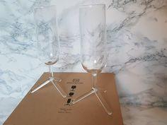 Grand jeu CONCOURS NOËL : Coffret 6 flûtes Tripod Glasses par TH Manufacture - Blog Esprit Design