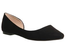 Office Lotus Dorsay Point Black - Flats