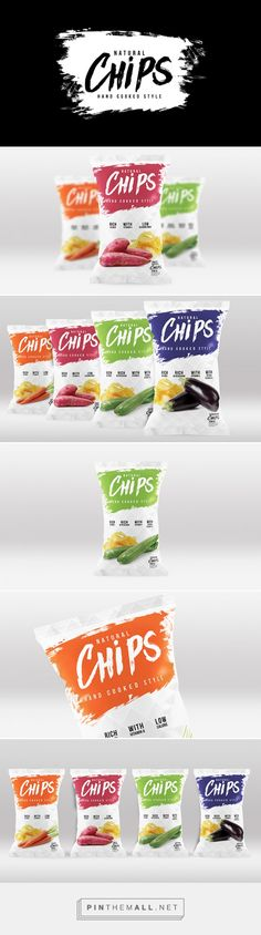 Natural Chips by Agencia Bud. Souce: Daily Package Design Inspiration. Pin curated by #SFields99 #packaging #design