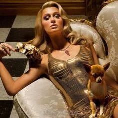 Love this look of Paris Hilton