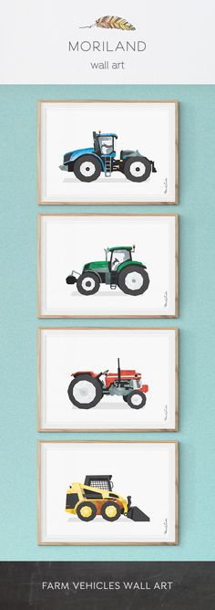 Skid Steer Loader Print, Bobcat Loader Print, Tractor Print, Tractor Nursery, Construction Birthday, Toddler Room Decor, Big Boy Decor, Truck Print, Nursery Wall Art, Skid Steer Print, Boys Bedroom Decor Ideas, Farm Nursery, Watercolor Children Wall Art #tractor #farm #vehicle #skidsteer #print #printable #wall #art #decor #birthday #big #boy #room #toddler #watercolor #diy #little #kids #children #bedroom #playroom #instant #download #transportation #construction By MORILAND Wall Art