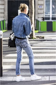 Denim on denim, Blog, Mayke.com