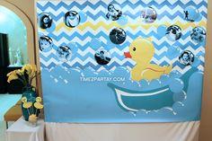 Birthday / Rubber Duckies - Photo Gallery at Catch My Party Third Birthday, Birthday Ideas, Birthday Parties, Rubber Duck Birthday, Baby Party, First Birthdays, Modern, Anniversary Parties, One Year Birthday
