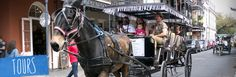 Carriage Tours - New Orleans Tours