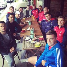 George Ford and mates
