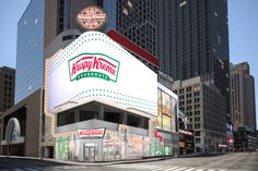 Donuts, New York City, Krispy Kreme Doughnut, Doughnut Shop, Times Square New York, Olive Gardens, New York Travel, Worlds Largest, Broadway