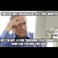 Traffic has incread 20% this month,