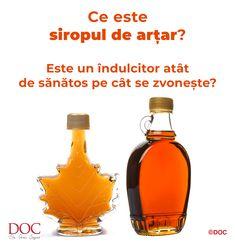 De multe ori simțim nevoia de dulce, dar știm că zahărul este un ingredient periculos. Astfel că, trebuie să recurgem la înlocuitori. Astăzi îți propun să afli mai multe despre siropul de arțar, care nu este numai gustos, ci și extrem de sănătos, dacă nu este consumat în exces. Diet And Nutrition, Hot Sauce Bottles, Cancer, Diet, Syrup