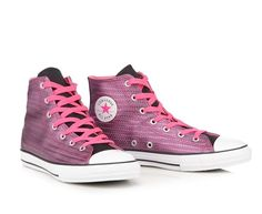 013e9e8be02d NIB Converse Pink Metallic Woven High Tops 6 Youth -Thee shoe for Back to  School…