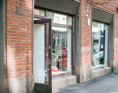 Our shop in Vuorimiehenkatu 10, Helsinki.  photo: Hey Look / Michaela Egger