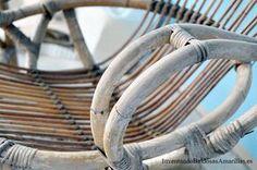 restaurar sillones bambu