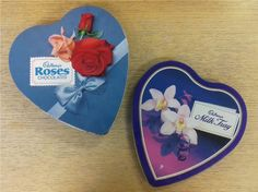 Cadbury UK vintage packaging for Roses and Milk Tray for Valentine's  British chocolate, British candy, British candy box
