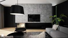 MINIMALISTYCZNE WNĘTRZE DOMU - Salon, styl minimalistyczny - zdjęcie od TK Architekci