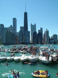 Chicago summers on Lake Michigan