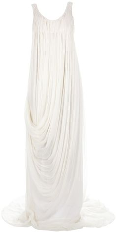 Draped Gown - Lyst