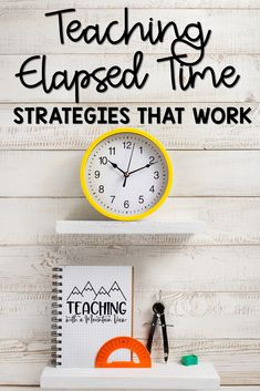 Elapsed time is one of the trickier concepts to teach in upper elementary math. My students often need different strategies to help them understand and make this concept 'click'!  Check out a few of my best ideas (they're hands-on and engaging!) to help your students in third, fourth, and fifth grade master this ccss standard! Teaching Numbers, Math Numbers, Teaching Math, Kindergarten Math Games, Math Activities, Elementary Math, Upper Elementary, I Love Math, Elapsed Time