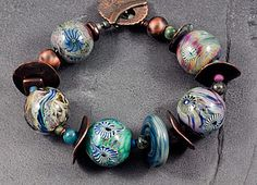 Bracelet I made for my bead show on Sunday