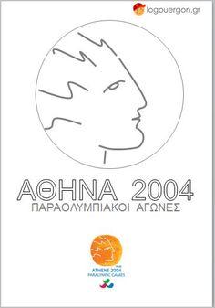 Ζωγραφίζουμε τον Αθλητή των Παραολυμπιακών Αγώνων Αθήνα 2004 Olympic Games, Athens, Olympics, Symbols, Chart, Letters, Vip, Letter, Lettering
