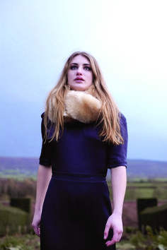 Blanche in the Brambles, Head Warmer - Feather  #AW14