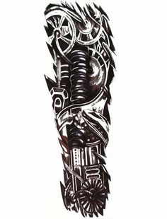 Full Arm Sleeve Tattoo for Men
