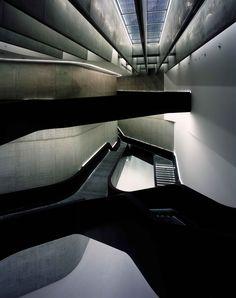 MAXXI, the National Museum of XXI Century Arts in Rome   Zada Hadid