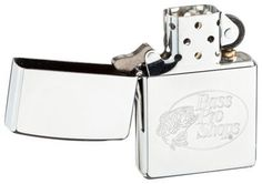 Zippo Lighter - Bass Pro Shops High Polish Chrome