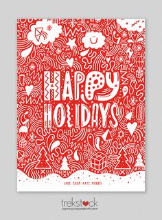 TREKSTOCK XMAS CARDS - katemoross