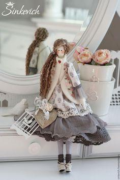 Купить Даниэла - тильда, тильда кукла, кукла ручной работы, кукла, кукла интерьерная