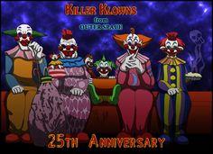 Killer Klowns 25th Anniversary by Miss-Dutch.deviantart.com on @deviantART
