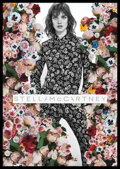 Supermodel Natalia Vodianova remains the stunning face of Stella McCartney photographed for the Spring Summer advertisement's by Mert and Marcus. Moda Floral, Natalia Vodianova, Stella Mccartney, Editorial Photography, Fashion Photography, Fashion Images, Fashion Trends, Fashion Fashion, Stella Fashion