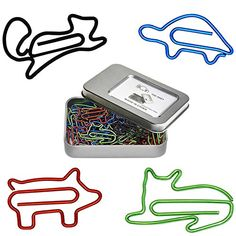 #Sponsored Animal-Themed Paper Clips.