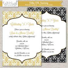 50th wedding anniversary invitation wording Check more image at http://bybrilliant.com/1818/50th-wedding-anniversary-invitation-wording