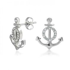 Bling Jewelry Pave Clear CZ Nautical Anchor Stud Earrings 925 Silver -- Read more at the image link. Nautical Earrings, Anchor Earrings, Nautical Jewelry, Tiny Stud Earrings, Sterling Silver Earrings Studs, Women's Earrings, 925 Silver, Wedding Earrings, Cheap Jewelry