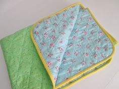s.o.t.a.k handmade: whole cloth baby quilt