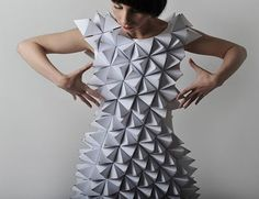 polygon dress