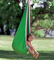 @Magic Cabin HugglePod™ Indoor/Outdoor Canvas Hanging Chair - $99.00