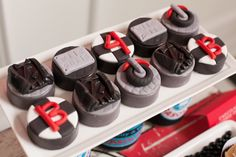 Motorcyle Party for boys | Chocolate covered oreos