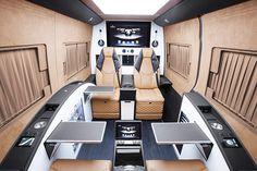 Mercedes-Benz x Brabus Sprinter Business Lounge Edition