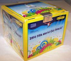 Panini 2014 FIFA World Cup Brazil Stickers Sealed Box 50 packs