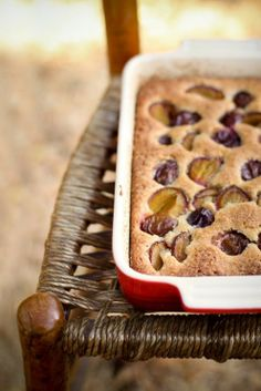 Agnese Italian Recipes: Italian Corn Cake with wild plum