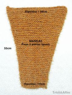 Blusa de Tricô Super Fácil