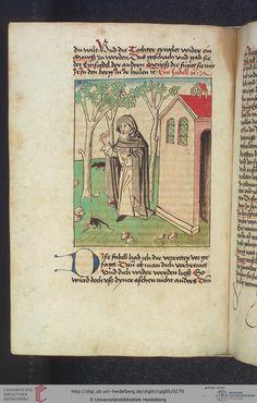 Cod. Pal. germ. 85: Antonius von Pforr: Buch der Beispiele (Schwaben, um 1480/1490), Fol 131v